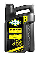 Моторное масло YACCO VX 600 5W40 (5L) VAG 502/505