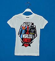 Детские футболки для мальчиков 110-128 см, Детские футболки оптом