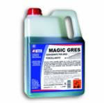 Обезжиривающее моющее средство MAGIC GRES для гладкой и микропористой плитки