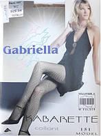 Колготки сеточка телесные размер 3/4. Gabriella Kabarette 151. Уценка