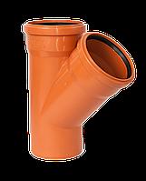 Pestan 110/110/45 Тройник для наружных работ PVC