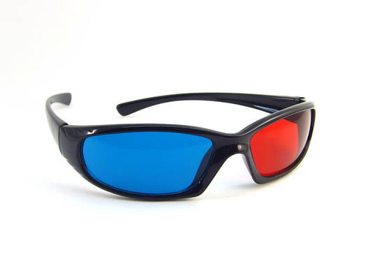Топ продаж Анаглифные 3D очки красно-синие ed5a118efe93e