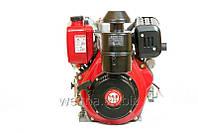 Дизельный двигатель Weima WM192FE (вал шпонка), диз 14.0 л.с. 498cc/ Эл/стартер. для мотоблоков