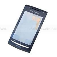 Sony Xperia X8 E15i Передняя панель корпуса с сенсорным стеклом, 1241-9399 оригинал