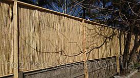 Бамбуковый забор, ограждение 1,5м х 6,0м