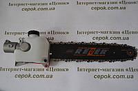 Насадка-висоторіз для мотокоси, штанга 26 мм, 9 зубів, фото 1