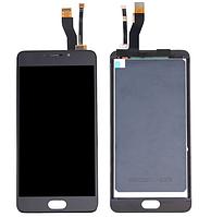 Оригинальный дисплей (модуль) + тачскрин (сенсор) для Meizu M5 Note | M621 (черный цвет)