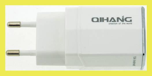 Сетевой адаптер 3*USB разъемами QH-1520