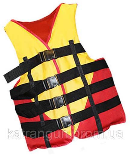 Жилет страховочный Bark, неопрен, красно-черный, 90-110 кг - Магазин подводного снаряжения KatranGun — подводная охота, дайвинг, плавание, бассейн, обучение ПО в Киеве