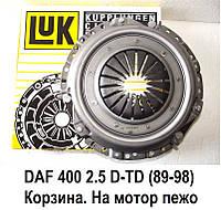 Корзина сцепления для DAF 400 2.5 D - TD (89-98) Layland. Даф 400 с мотором Пежо.