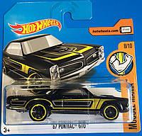 Базовая машинка Hot Wheels Pontiac GTO