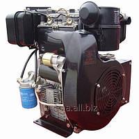 Дизельный двигатель Weima WM290FE (вал шпонка), 2-цил.диз  20,0л.с. Эл/стартер. для мотоблоков