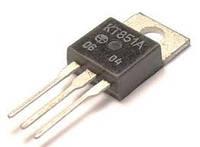 КТ851А транзистор PNP (3А 250В) (h21э 40-200) 25W (ТО220)