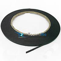 Двусторонний скотч. Ширина-3мм, толщина-0,5мм (5 метров) для фиксации сенсоров и дисплеев
