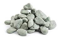 Камени в баню жадеит шлифованный мелкий в мешке Хакасия