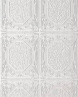 Виниловые обои Версальпотолочные  белые 80101BR00