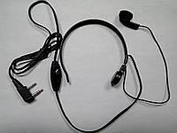 Гарнитура с ларингофоном ML-23 K1 для радиостанций Kenwood / Baofeng / Wouxun / Quansheng