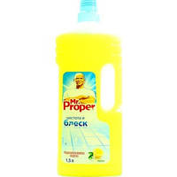Моющее средство Mr. PROPER 1500мл лимон средство для уборки пола и стен 0149852 (0149852 x 109921)