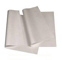Бумага пергаментная Бумага для выпечки белая силиконовая в листах 60см х 42см, 1000 листов  0141251 (0141251 x 38081)