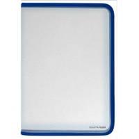 Папка-пенал пластиковый на молнии A4 Economix E31608 (E31608-02(синяя) x 118391)