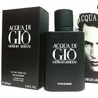 Мужская туалетная вода Giorgio Armani Acqua Di Gio Black Pour Homme edt 100 ml