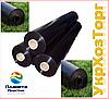 Пленка черная полиэтиленовая 200 мкм (Для мульчирования,строительства) 50м 1,5 м рукав 3 м в развароте