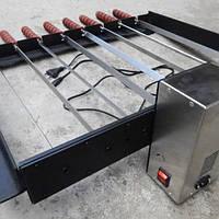 Рамка в барбекю с электроприводом шампуров (на 10 шампуров)
