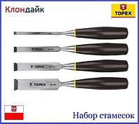 Набор стамесок TOPEX 09A310