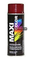 Акриловая краска Maxi Color ✔ цвет: бордовый ✔ 400мл.