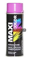 Акриловая краска Maxi Color цвет: ярко-фиолетовый 400мл.