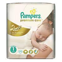 Подгузники Pampers Premium Care Newborn 1 (2-5 кг) 22 шт