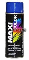 Акриловая краска Maxi Color ✔ цвет: темно-синий ✔ 400мл.