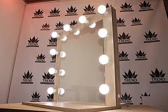 Визажное зеркало с полочкой, фото 2