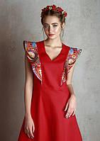"Льняное платье ""Флай"" тм Raslov, модель 050"