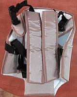 Рюкзак кенгуру переноска сидя, для детей с трехмесячного возраста, Серый