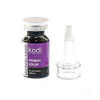 Пигмент для микроблейдинга Kodi Professional MB 01, цвет черный, 10 мл