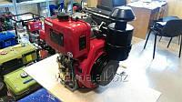 Дизельный двигатель Weima WM188FBS (вал шпонка,1800об/мин), диз 12.0л.с. 456cc/Цил сьем, Руч.ст для мотоблоков