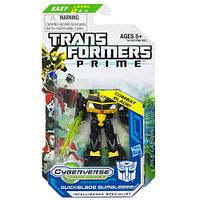 "Игрушка Бамблби ""Трансформеры Прайм"" - Quickblade Bumblebee, ""Prime"", Legion, Cyberverse, Hasbro"
