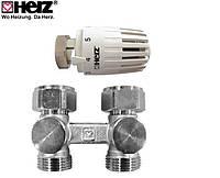 "Комплект термостатический Herz PROJECT Н 1376663, G 3/4"" x 3/4"", M 30 x 1,5"