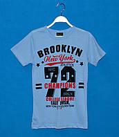 Детские футболки для мальчиков 110-128 см, Летняя футболка для мальчика оптом
