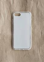 Силиконовый чехол для телефона Apple iPhone 7 прозрачный