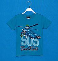 Детские футболки для мальчиков 110-128 см, Футболки детские турция оптом