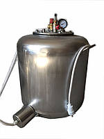 Паровой автоклав А60 electro, манометр, термометр, нержавейка, 50*45см, 17кг, 3кВт, терморегулятор