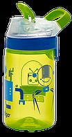 Бутылка спортивная детская Contigo Gizmo Sip 0,42 л зеленая 1000-0473