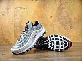 Мужские кроссовки Nike Air Max 97 OG QS Metallic Silver, фото 2