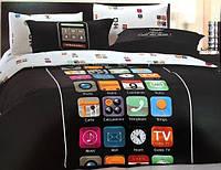 Комплект постельного белья Iphone  евроразмера
