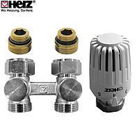 "Комплект термостатический Herz PROJECT Н 1376685, G 1/2"" x 3/4"", M 30 x 1,5"