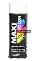 Акриловая краска Maxi Color ✔ цвет: белый ✔ 400мл.