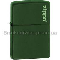 221ZL - ZIPPO 221 GREEN MATTE w\zippo LOGO