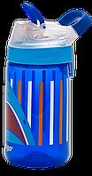 Бутылка спортивная детская Contigo Gizmo Sip 0,42 л синяя 1000-0474